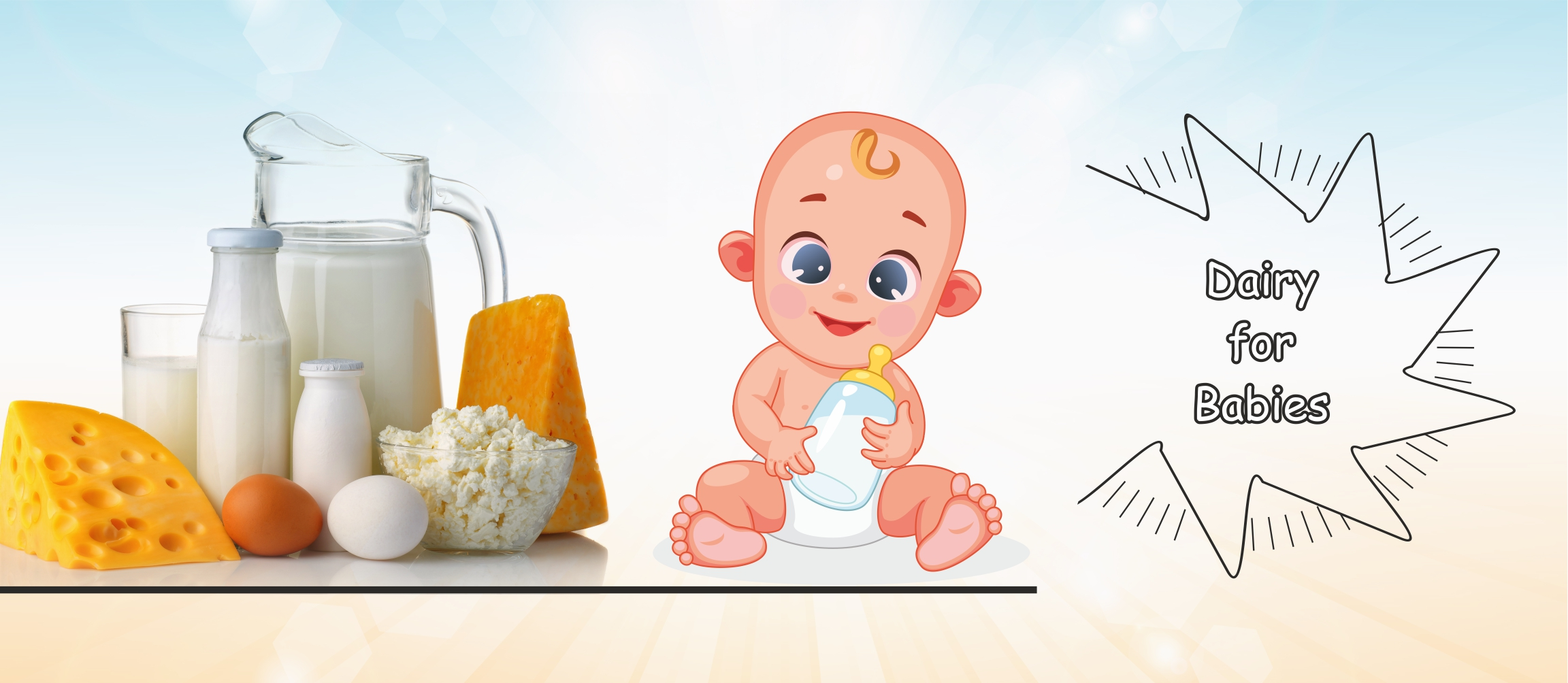 You are currently viewing Dairy for Babies